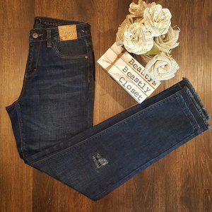 Ethyl Madison High Rise Skinny Jeans Patchwork 0